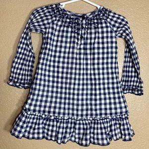 Gap toddler girl plaid dress